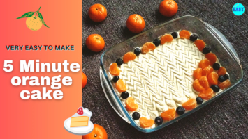 Orange Cake Recipe | Orange Cake In Microwave