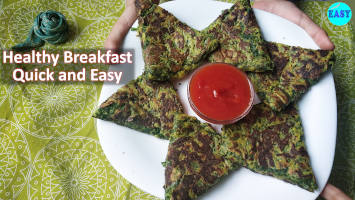 Healthy Breakfast Recipe | Healthy Palak Snack Recipe