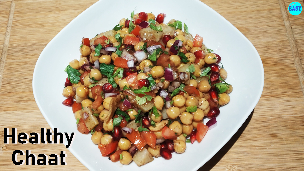 Healthy Chana Chaat
